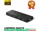 VGA SWITCHER BOX 4 IN 1 OUT UGREEN ..